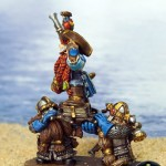 Dwarf Lord and Shieldbearers Conversion