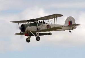 Brytyjski samolot torpedowy Fairey Swordfish