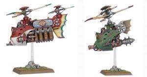 Oryginalne modele: Gyrobomber oraz Gyrocopter