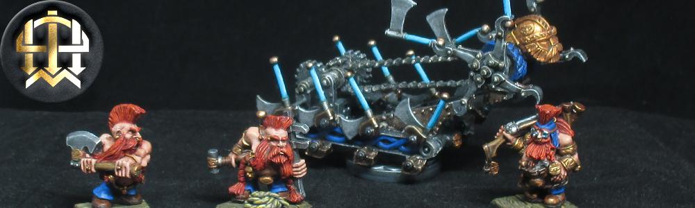 Dwarf Malakai Makaisson's Goblin Hewer
